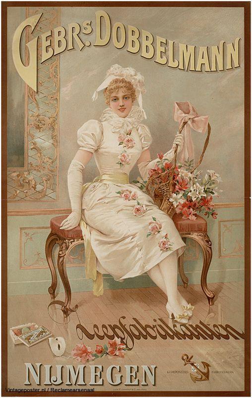 Reclame posters | 1890 - 1900 | Gebrs. Dobbelman | Vintageposter.nl | Vintage Posters | Historische Posters | Historical Posters