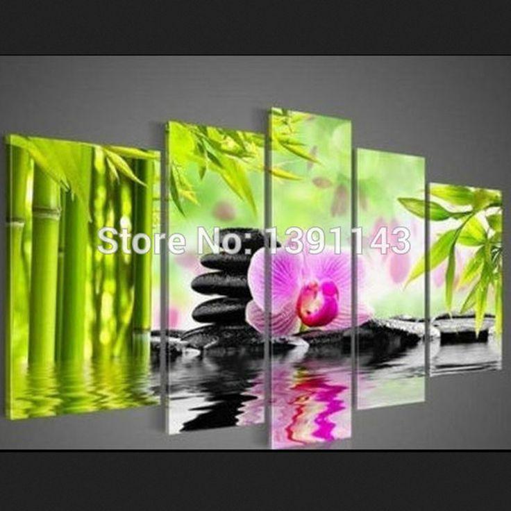 Гостиная декоративные Новое поступление diy алмаз живопись стены искусства Фиолетовые цветы вода стороны триптих Вышивка крестом купить на AliExpress