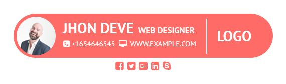 Design your Email Signature Just for $5 Website:  http://www.imhashib.com