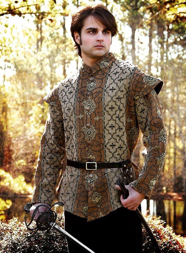 Mens Doublet Jacket Renaissance Faire Medieval Costume                                                                                                                                                     More