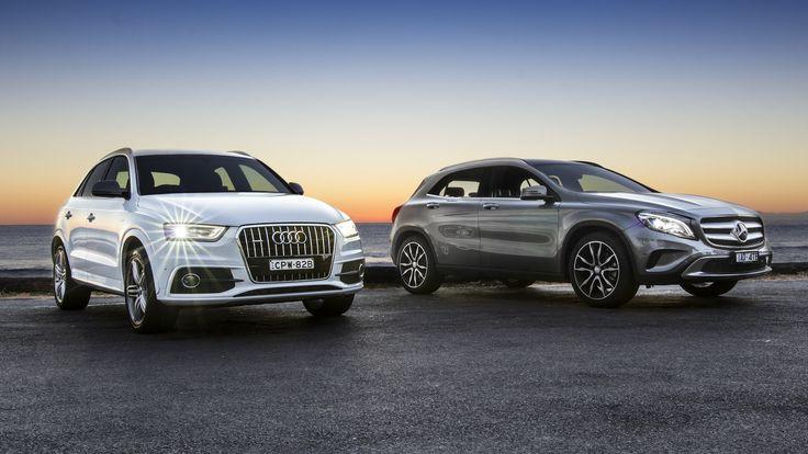 Audi Q3 v Mercedes-Benz GLA-Class : Comparison review - http://www.caradvice.com.au/300020/audi-q3-v-mercedes-benz-gla-class-comparison-review/
