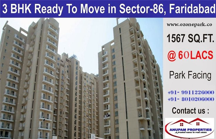 Ozone Park flats & appartments in Faridabad. Simply call us to book a visit - http://goo.gl/uKpWLl