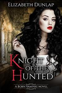 Knight of the Hunted designed by Elizabeth Dunlap | JF: A lovely cover that's part of a series. The heroine is striking, if looking a bit bemused, and the atmosphere is enhanced by the careful use of color. ★