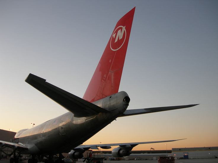 Northwest Airlines Freighter N640US at LAX in 2009. Photo taken by poster.