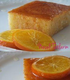 Portakallı Yoğurt Tatlısı   Neşeli Tatlarım