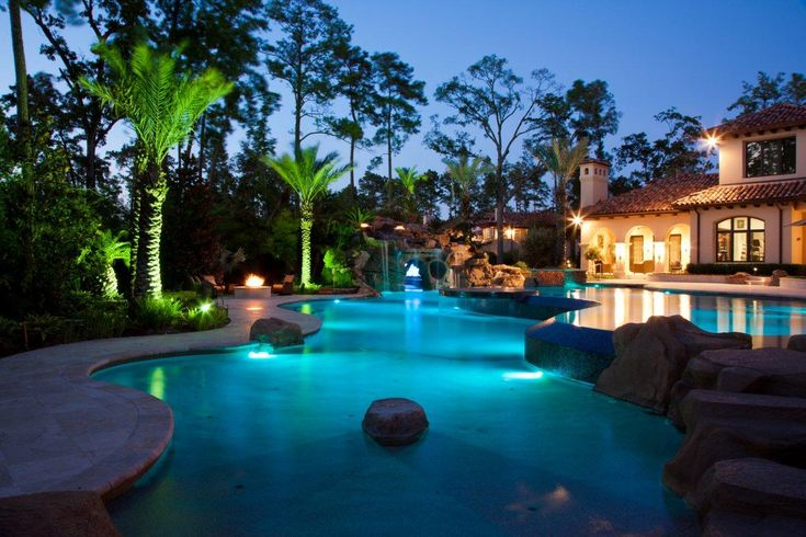 Exotic Swimming Pools With Grottos Pools With Grottos