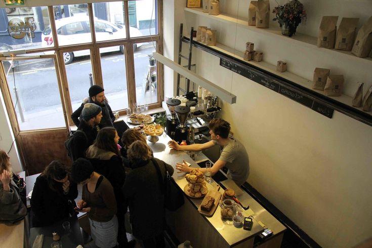 Ten Belles coffee shop - 10th Arrondissement