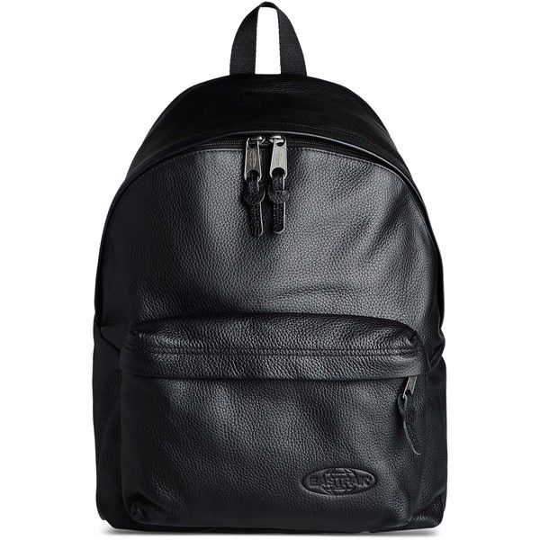 Eastpak Rucksack (24.885 ISK) ❤ liked on Polyvore featuring bags, backpacks, black, leather zipper backpack, leather daypack, zip bags, leather zip backpack and leather backpack