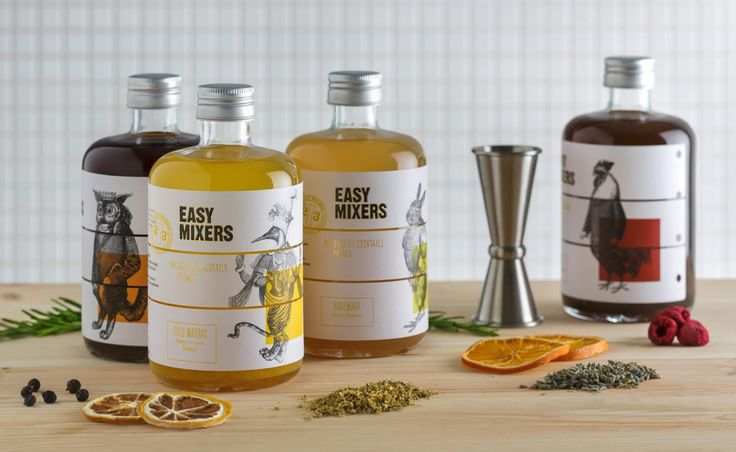 Easy-Mixers on Packaging of the World - Creative Package Design Gallery