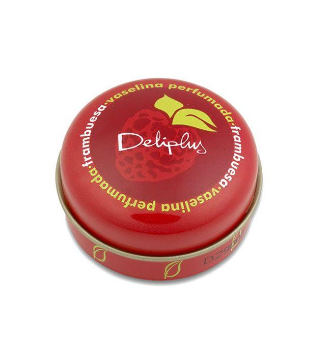 VASELINA PERFUMADA FRAMBUESA Protege, hidrata y calma. Eficaz para nariz y boca. Agradable aroma a frambuesa. Dermatológicamente testado. Tarro de 15 ml