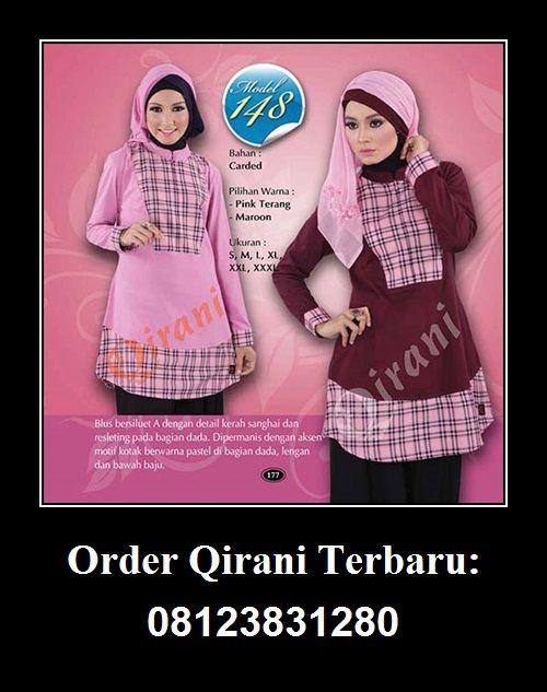 Baju Qirani atasan model 148,  Hubungi : Whatsapp : +62 812-3831-280 SMS : +62 812-3831-280 BBM : 5F03DE1D