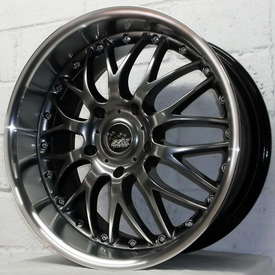staggered deep dish rims | ... 986 2004-2009 SSW MESH STAGGERED DEEP DISH ALLOY WHEELS 5x130 | eBay