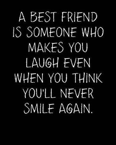 A best friend can brighten any day.