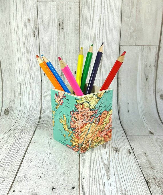 Hey, I found this really awesome Etsy listing at https://www.etsy.com/uk/listing/491418084/custom-pencil-pot-wanderlust-gift