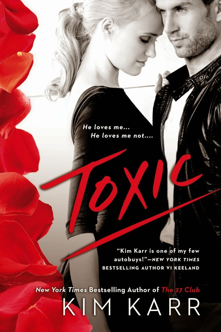 Cover Reveal For Toxic By Kim Karr  Book Review Bay  Romance Book Blog