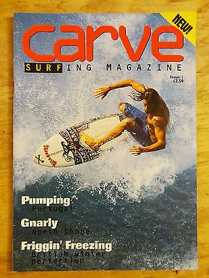 Carve magazine #issue 1 #debut edition #spring 1994 surf surfing book back #issue,  View more on the LINK: 	http://www.zeppy.io/product/gb/2/222193708660/