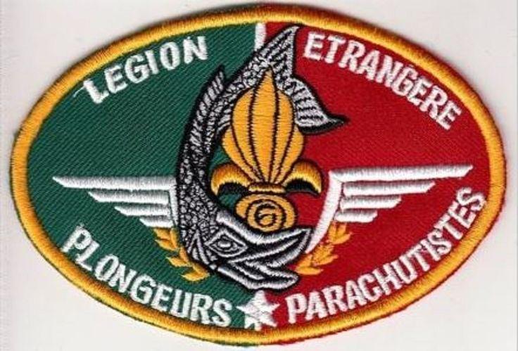 France French Foreign Legion 6th Regiment Combat Diver & Parachutist Légion Etra