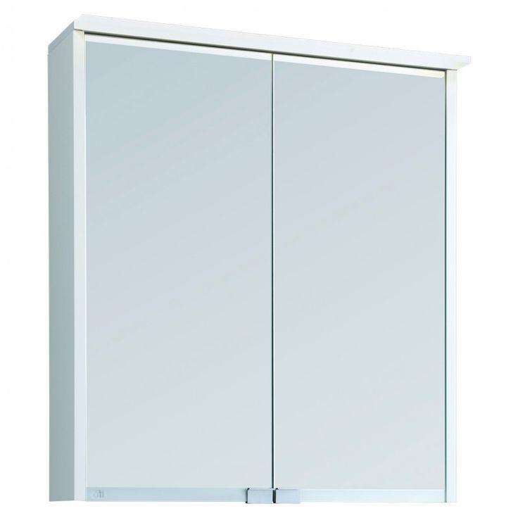 Ifö Option LED BAS 60 Vit Spegelskåpspaket   Bad & Värme