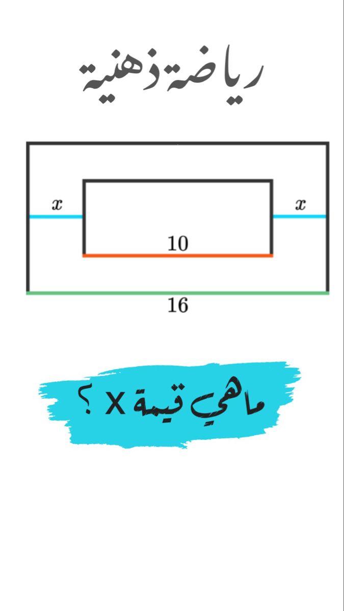 Pin By Hashim On الغاز In 2021 Math Math Equations