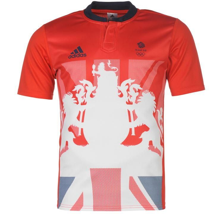 adidas | adidas Team GB Rugby 1st Shirt Mens | Rugby Replica Shirts