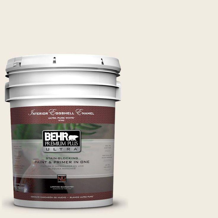 Behr premium plus ultra 5 gal 12 swiss coffee eggshell