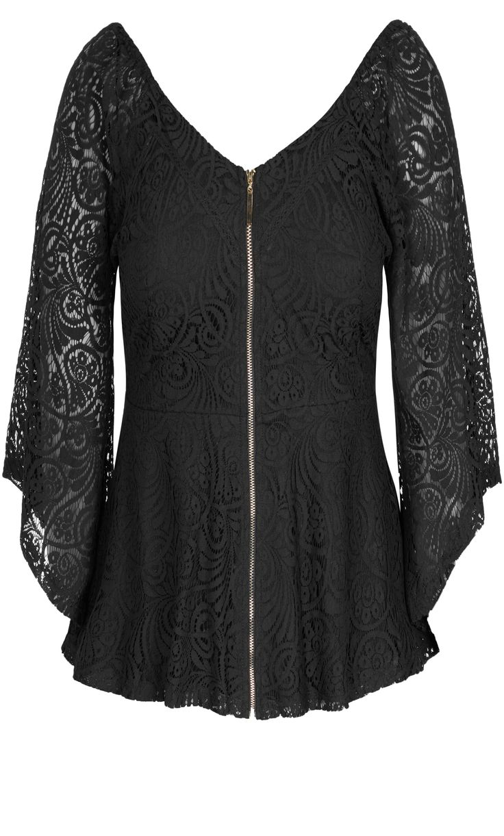 Bell Sleeve Victorian Blouse