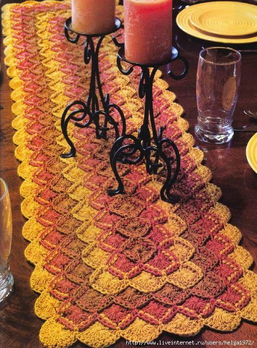 Irish crochet &: PATTERN. STEP BY STEP ... МК БАВАРСКОЕ ВЯЗАНИЕ
