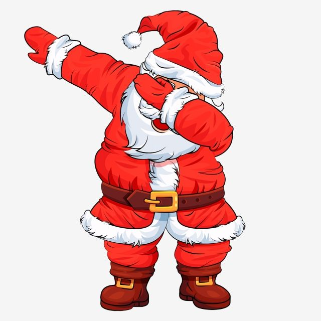 Christmas Dancing Santa.Millions Of Png Images Backgrounds And Vectors For Free