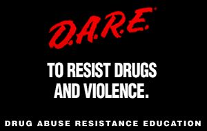 National Drug Abuse Resistance Education (D.A.R.E) Day on the first Thursday every April.