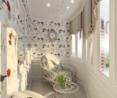 Балкон для уюта и приятного времпрепровождения