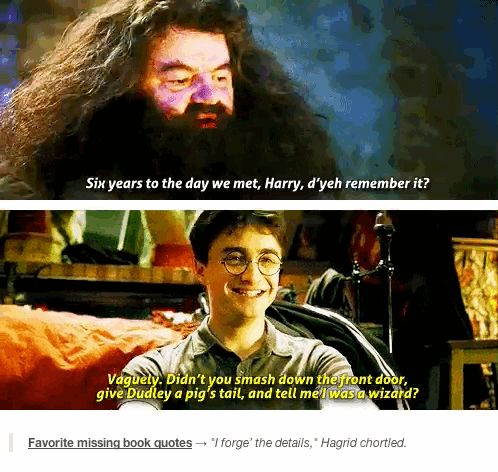 """GIF-----11 Missing Lines That Should Have Been In The """"Harry Potter"""" Movies"""