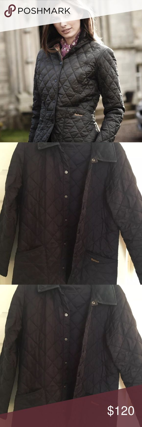 MOVING SALE! Barbour Quilted Jacket, size XS Barbour quilted Jacket, size XS. In great condition, only worn a couple times. Perfect for fall! More like a size small. Barbour Jackets & Coats