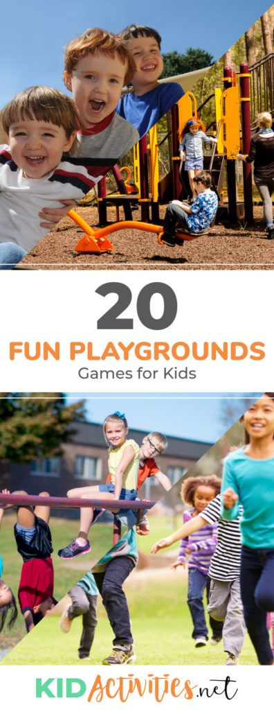 20 Enjoyable Playgrounds Video games for Youngsters