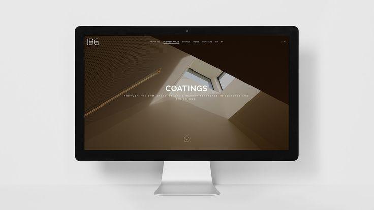 IBG Website #web #webdesign #branding