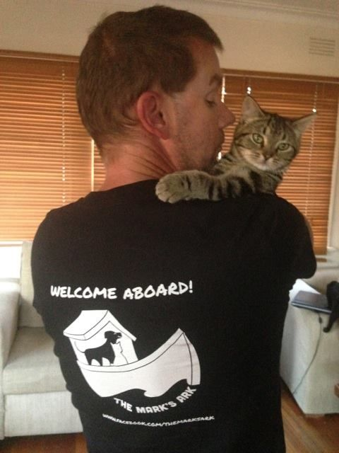 We are offering these limited edition t-shirts to help fund our vet bills and running costs. $7.50 from each t-shirt will go to The Mark's Ark. **PLEASE NOTE: TShirts are $25USD each and postage is $10.50USD + $1 for each additional t-shirt. Your shirt should arrive within 17-21 days from the end of the campaign.  http://teespring.com/themarksark