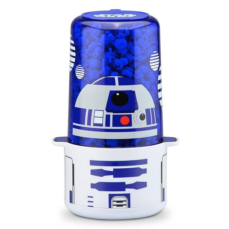 Star Wars R2-D2 Mini Stir Popcorn Popper - Star Wars popcorn maker #starwars #popcorn #home @ https://starwargift.com/best-star-wars-popcorn-maker/