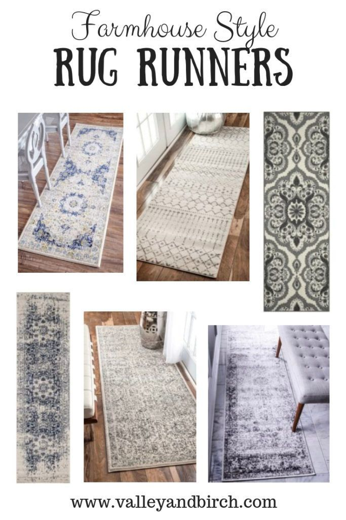 Farmhouse Style Rug Runner Ideas For The Home Things To Know