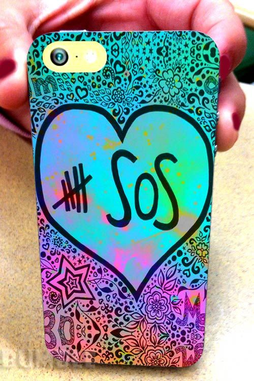 5SOS Quotes Galaxy Nebula - For iPhone 4/4s,5,5s,5c and Samsung s2,s3,s4 Case.BubleCases.