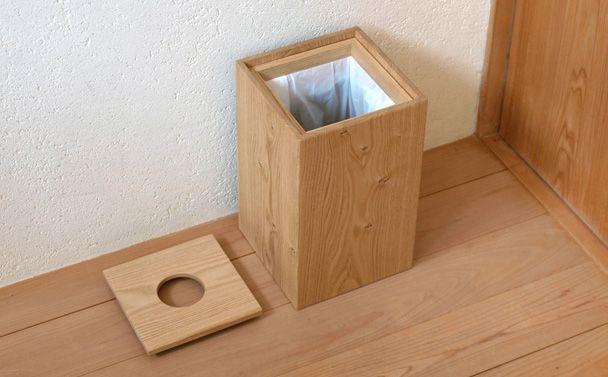 木製 ごみ箱 蓋付き ゴミ箱 木のごみ箱 ダストボックス