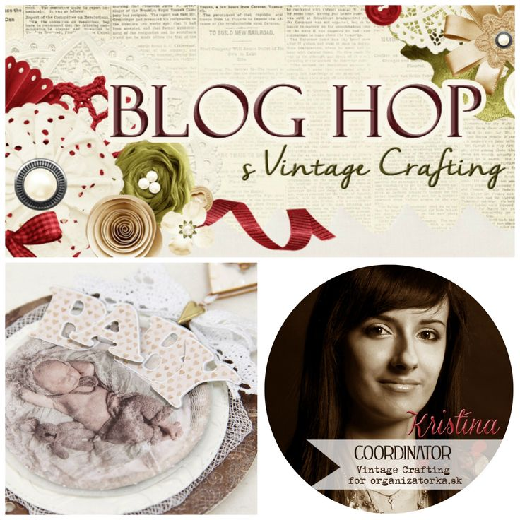 Októbrový BLOG HOP s Vintage Crafting - KRISTÍNA / October bLOG HOP with Vintage Crafting - KRISTÍNA