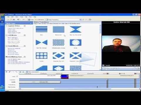 how to chroma key in windows movie maker youtube
