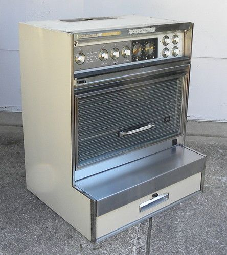 how to turn on an old electric oven