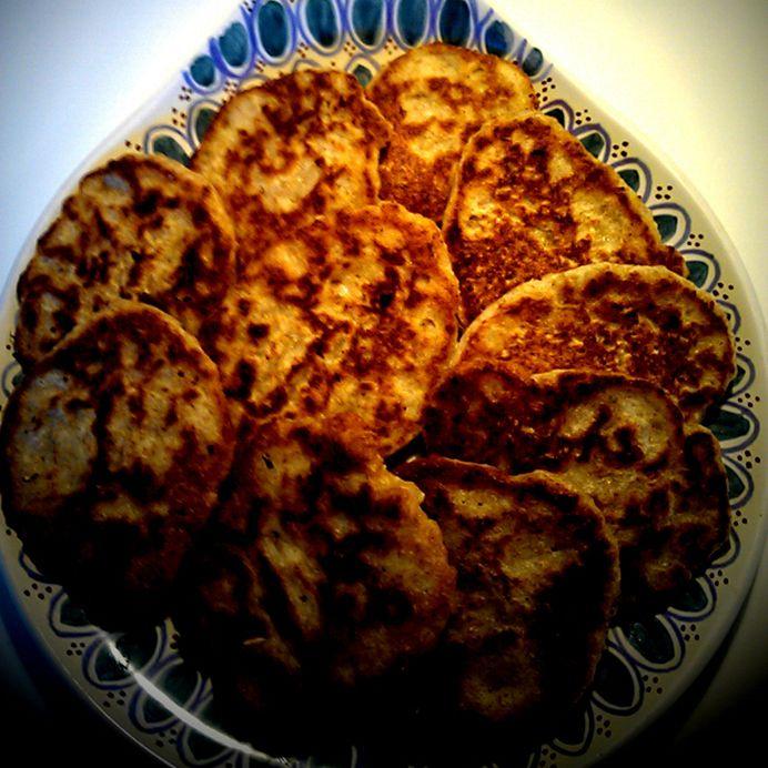 Havregrøds-klatkager