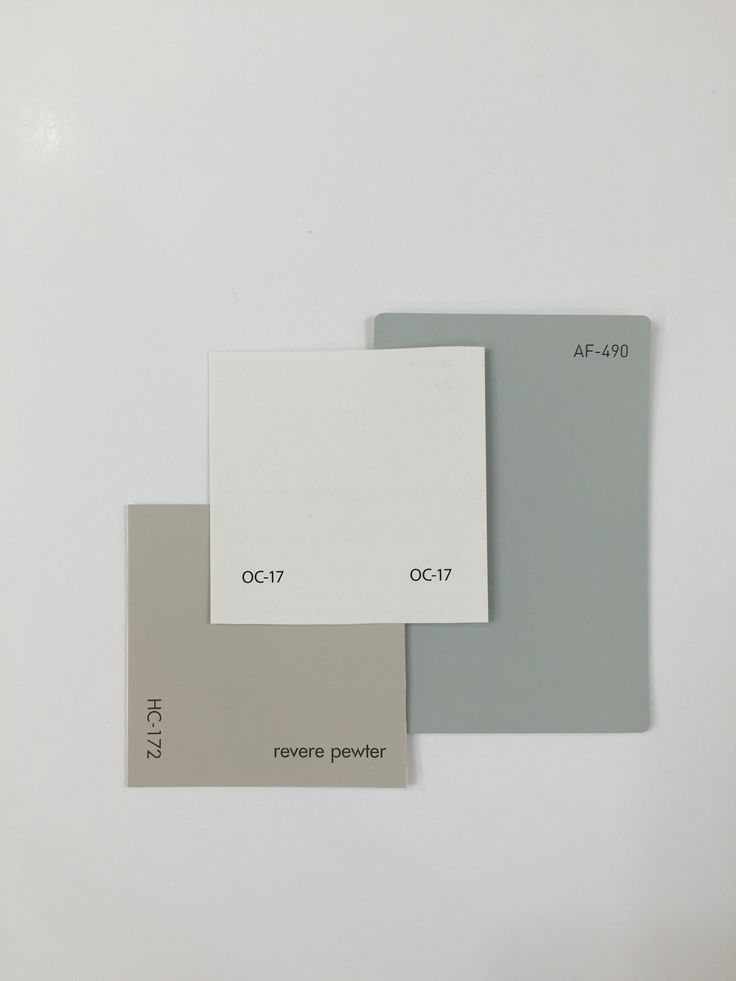 Den, Foyer, Kitchen & Dining - REVERE PEWTER HC-172, WHITE DOVE OC-17, TRANQUILITY AF-490