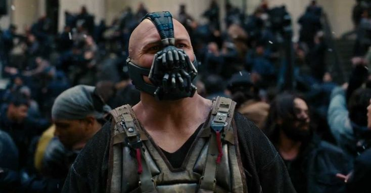 Donald Trump's inauguration speech echoes not Washington or Lincoln but Bane from The Dark Knight Rises. | New Republic