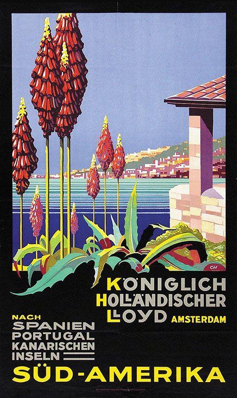 Königlich Holländischer Lloyd, Amsterdam - Süd-Amerika - 1935 -