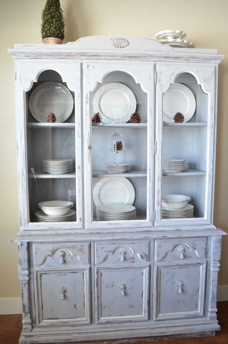 235 best Vintage Hutch images on Pinterest | Furniture, Painted ...