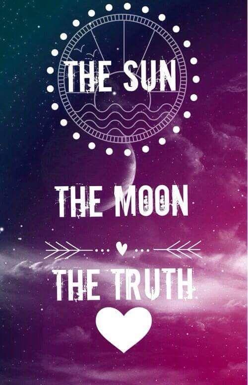 O sol, a lua, a verdade