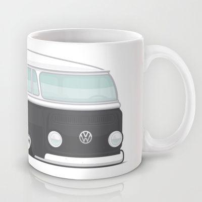 Low VW Bus Mug by leducland - $15.00