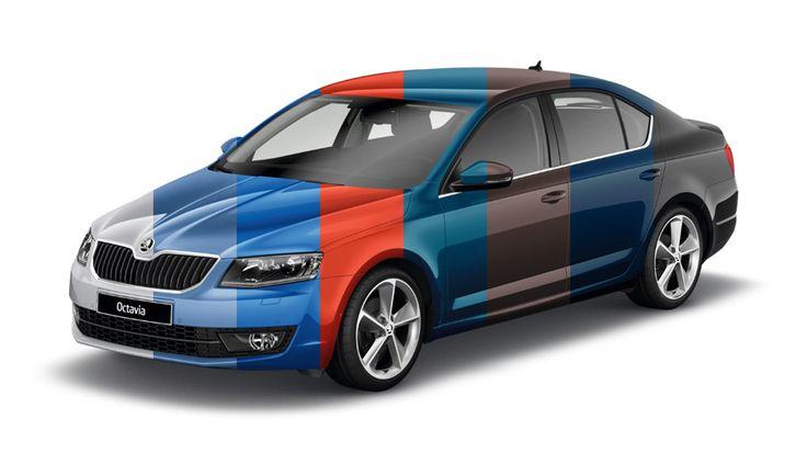 Odcienie piękna ŠKODA Octavia może wtopić się w tłum lub przyciągać wzrok z daleka. Wszystko zależy m.in. od jej koloru nadwozia. Dzięki szerokiej palecie barw, samochód ten można zaprojektować po swojemu.